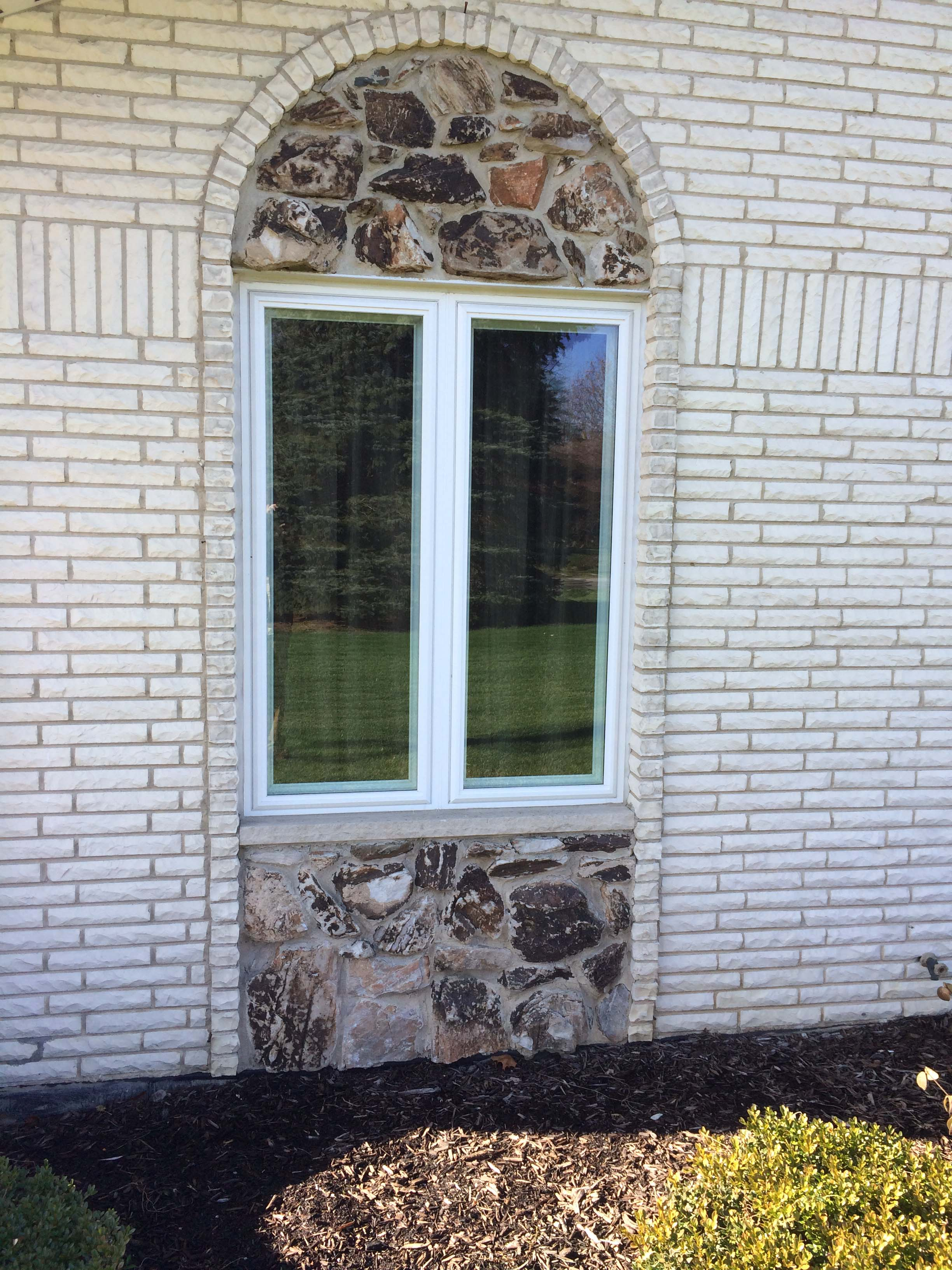 picture of an exterior house window